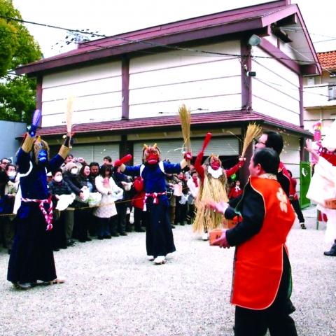 服部天神宮  節分祭「鬼と記念撮影会」※閲覧専用